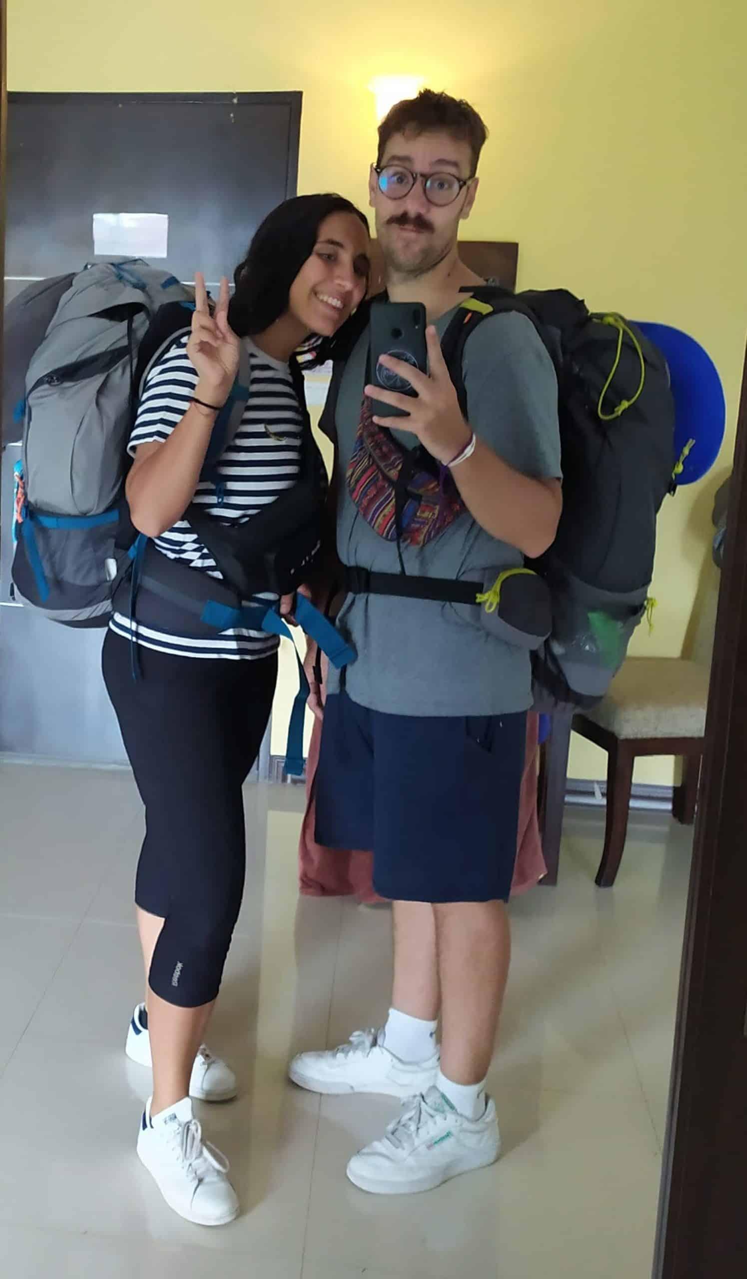 mochila que llevar a tailandia