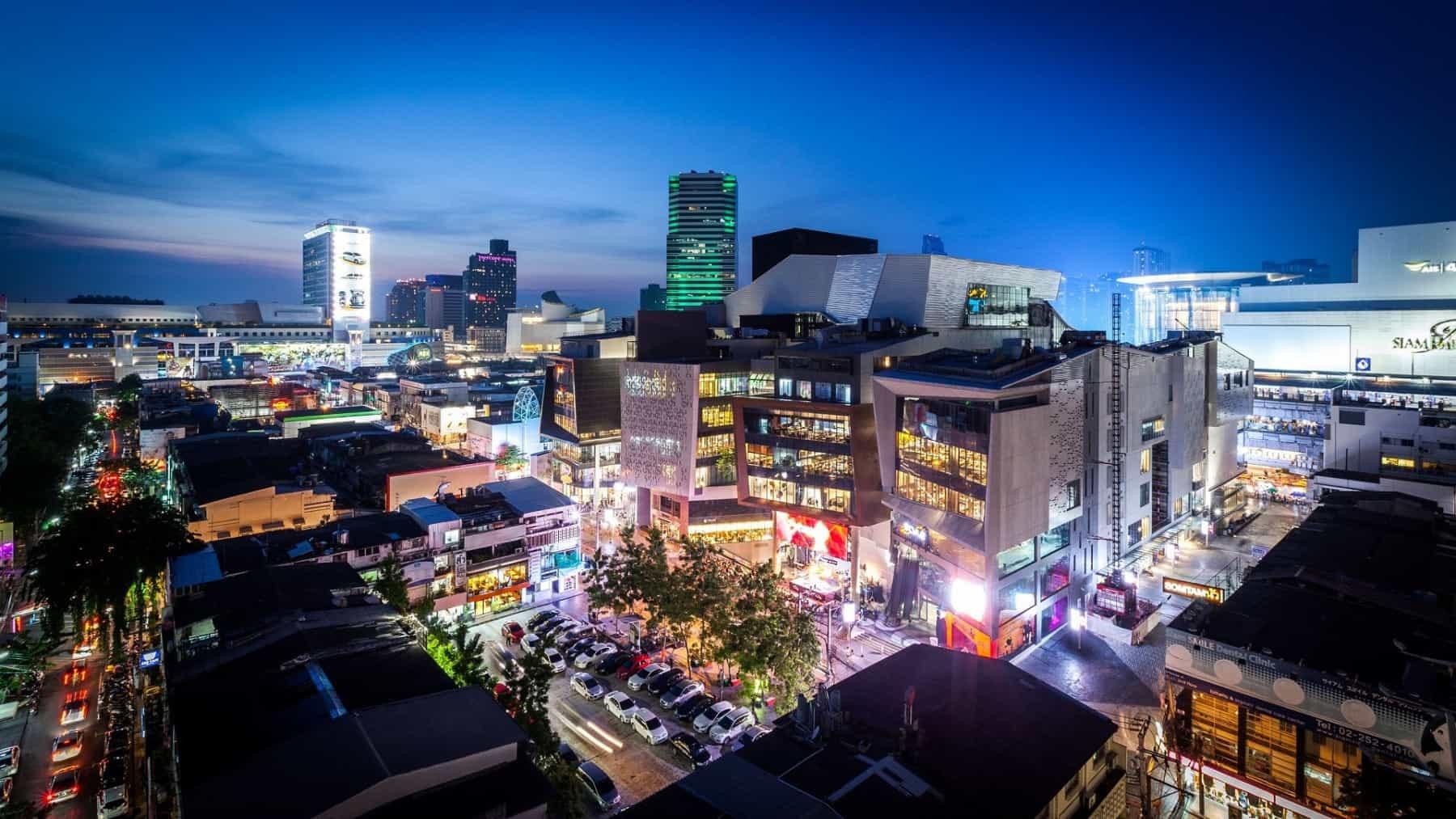 Alojarse en Siam Square