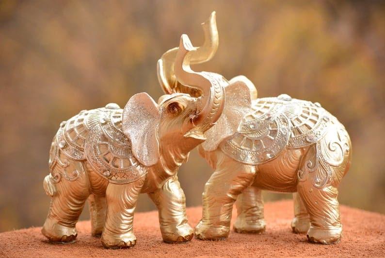 figuritas elefante tailandia regalo souvenir