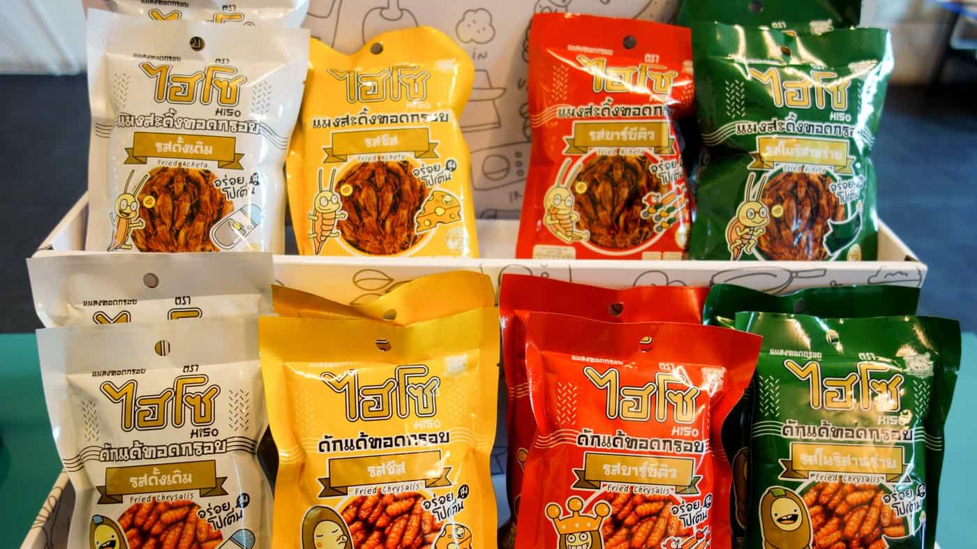 que comer en tailandia insectos tipicos snack aperitivo souvenir