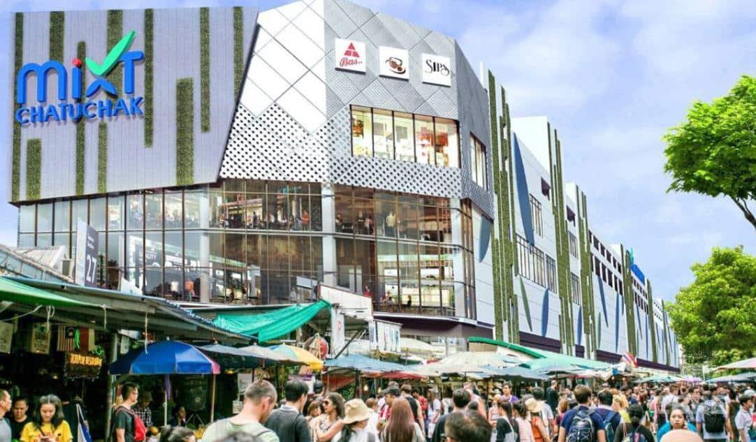 mixt chatuchak centro comercial bangkok que hacer en tailandia