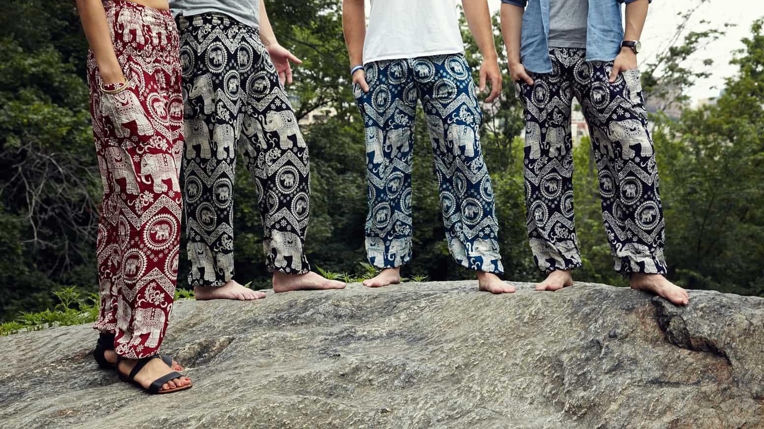pantalones de elefante souvenir regalo